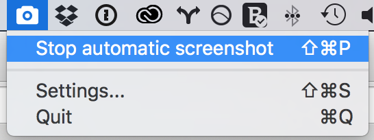 Screenbar - stop automatic screenshot