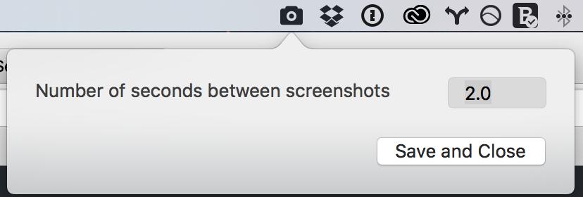 Screenbar settings v 0.1