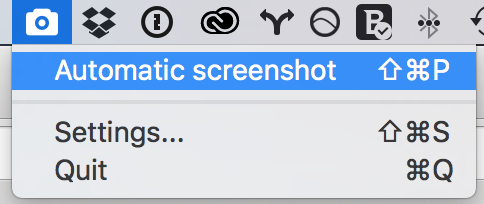 screenbar automate screenshot