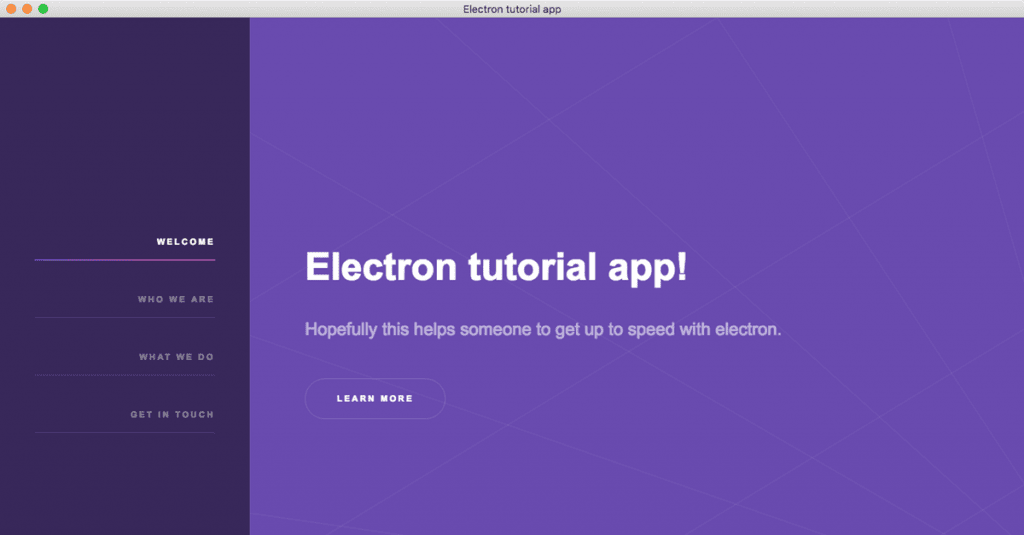 Install Electron tutorial app | Christian Engvall