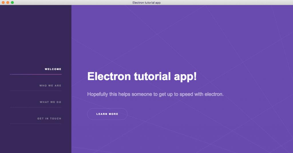 Electron app navigation | Christian Engvall