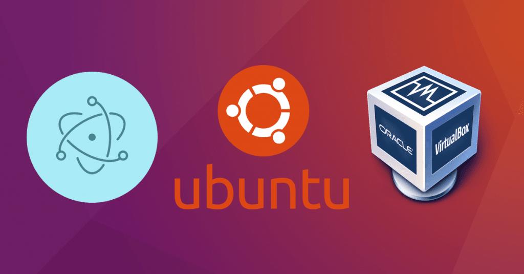 Testing electron app on Ubuntu linux