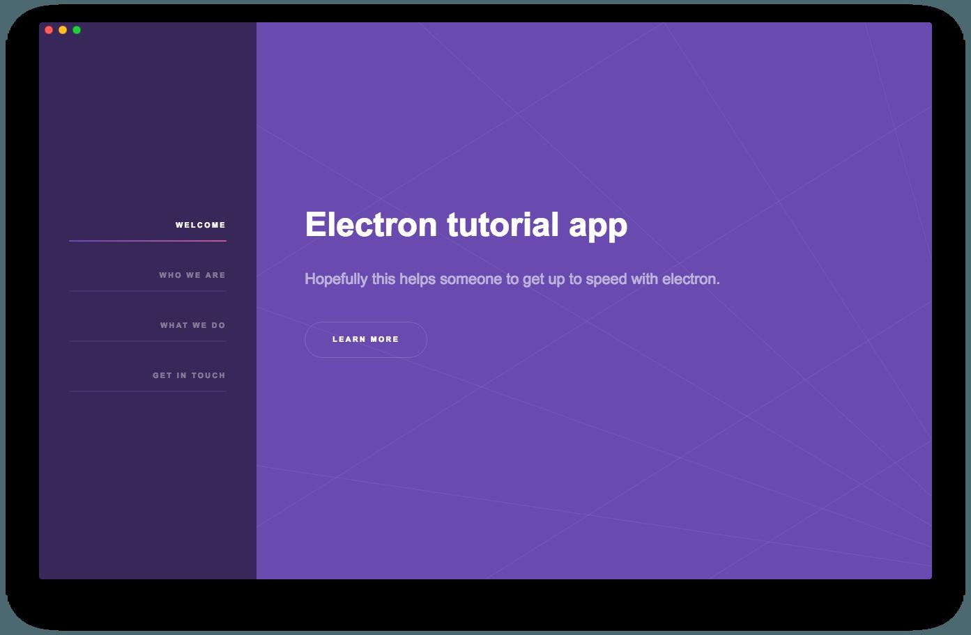 electron titlebar hidden