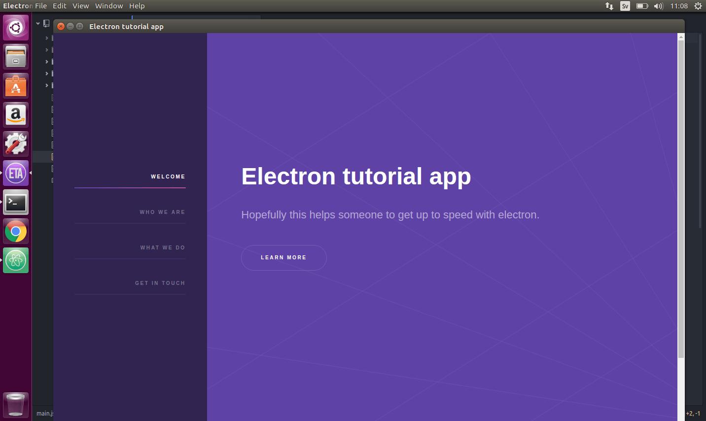 Electron icon ubuntu