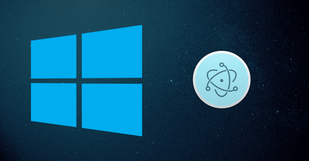 Electron Windows installer tutorial