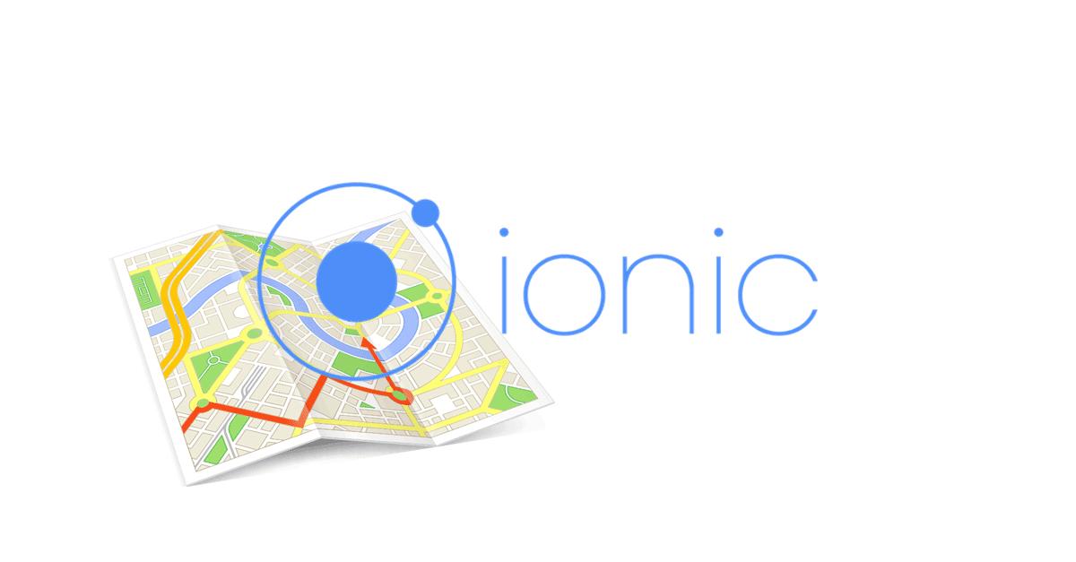 Ionic2 Google maps