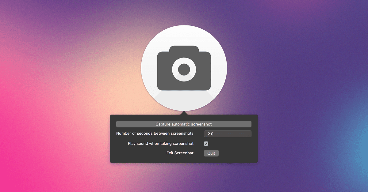 Screenbar released on Mac app store | Christian Engvall